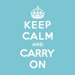 Keep Calm and Carry On - How To Handle Awkward Interview Moments