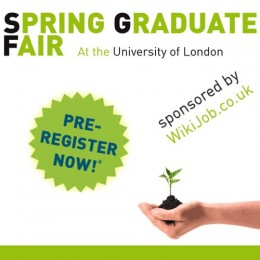 The Spring Graduate Fair at the University of London