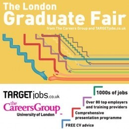 The Autumn London Graduate Fair Tuesday 13th October